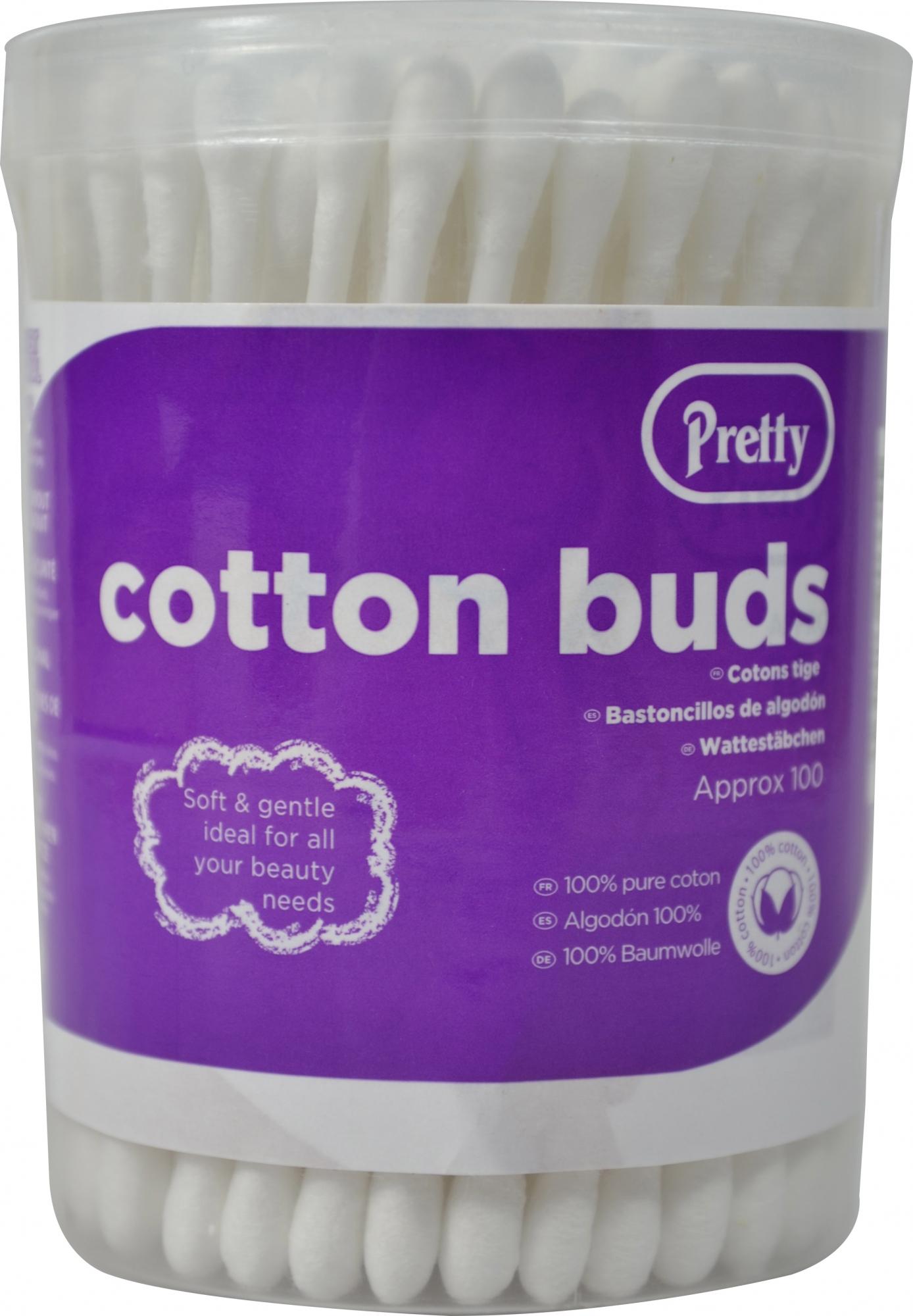 Pretty Cotton Buds 100s