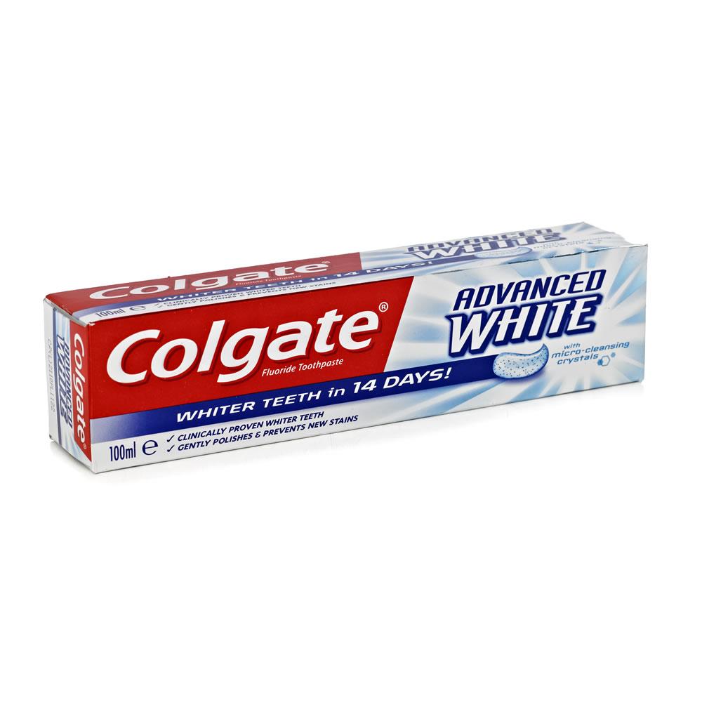 Colgate Advanced Whitening Toothpaste 100ml Import