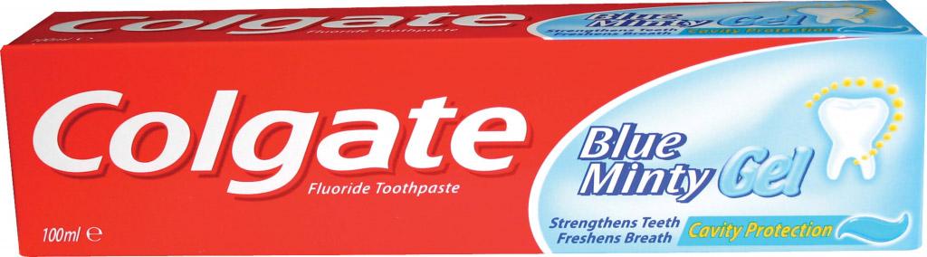 Colgate Blue Minty Gel Toothpaste 100ml