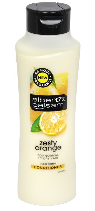 Alberto Balsam Conditioner 350ml Zesty Orange