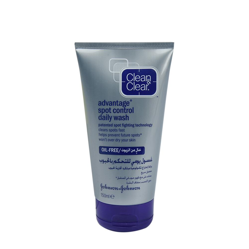 Clean and Clear Advantage Spot Control Daily Wash 150ml