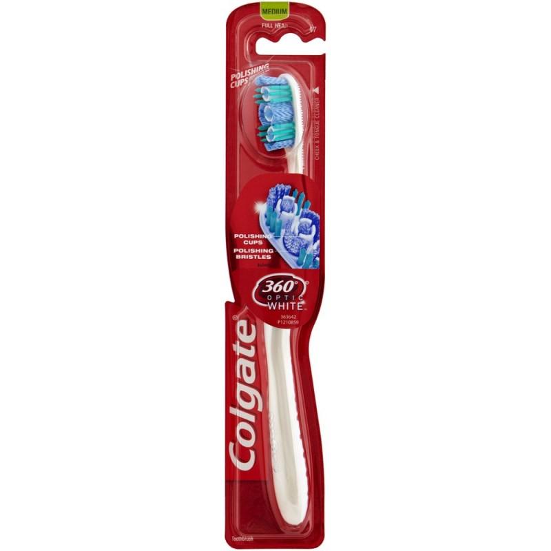 Colgate 360 Optic White Toothbrush