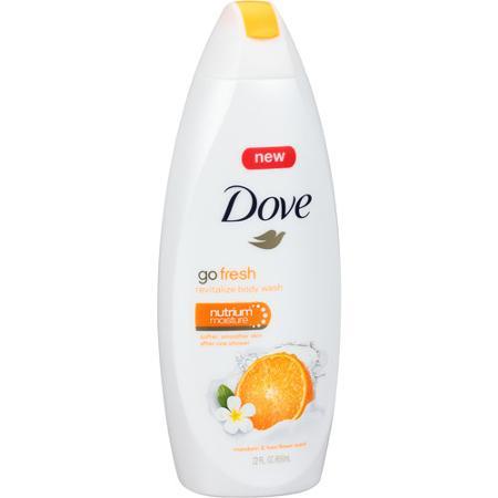 Dove Body Wash 250ml Fresh Revitalise