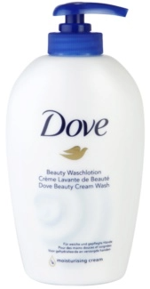 Dove Hand Wash Pump 250ml Caring Original