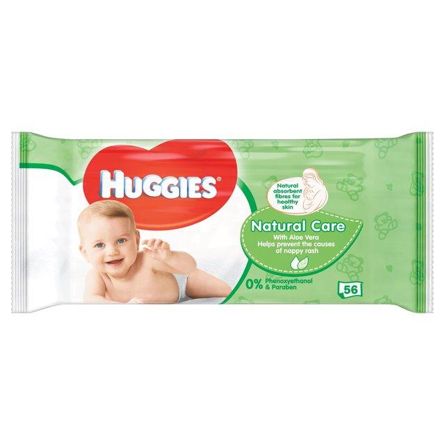 Huggies Wipes Nature Care 56's