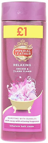 Imperial Leather Cream Bath Relaxing 500ml pm£1