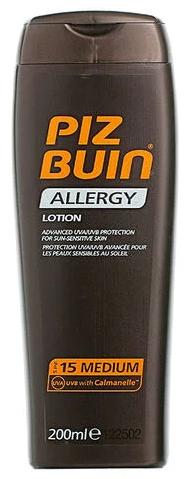 Piz Buin Allergy Sun Lotion 200ml SPF 15