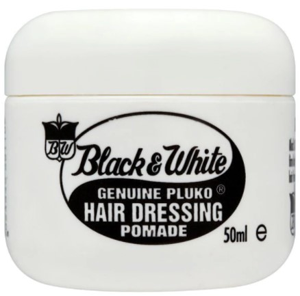 Black and White Hair Dressing 50ml Original Pomade