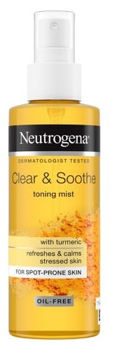 Neutrogena Clear and Soothe Toning Mist 125ml