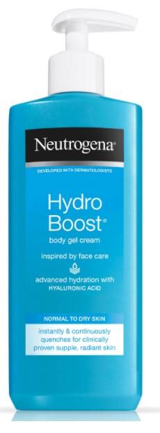 Neutrogena Hydro Boost Body Gel Cream 250ml Pump