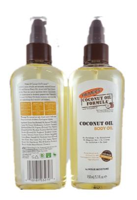 Palmers Cocoa Butter Coconut Oil Body Oil 150ml