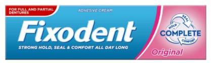 Fixodent Denture Complete Adhesive Cream Original 47g