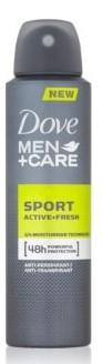 Dove Spray 150ml Mens Sport